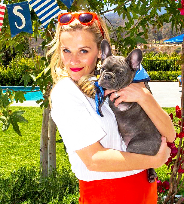 Reese Witherspoon and Pepper