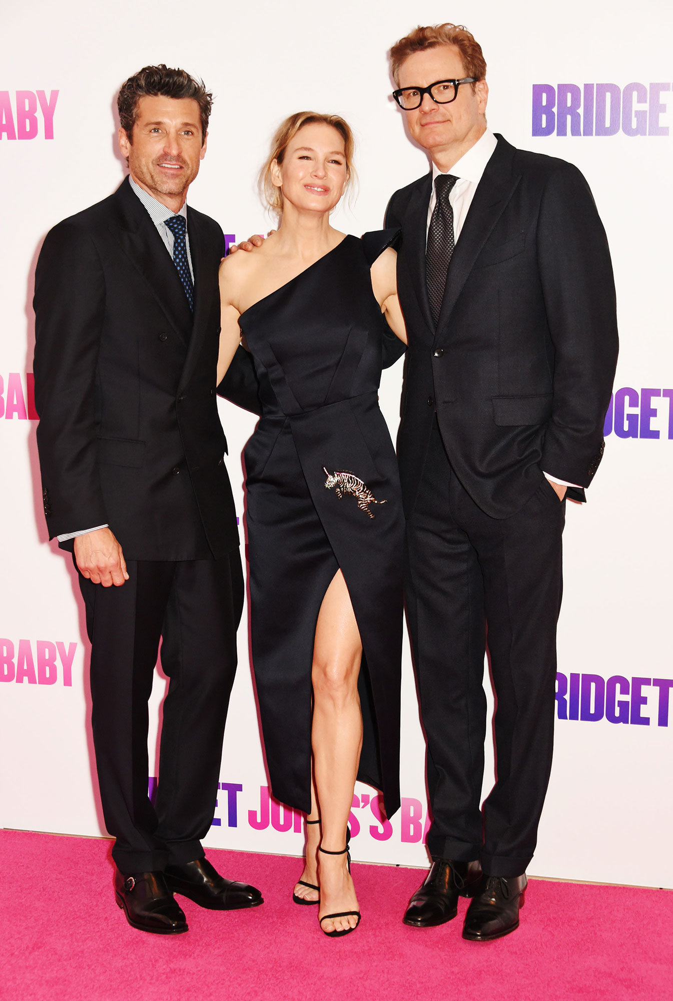 Patrick Dempsey Renee Zellweger Colin Firth