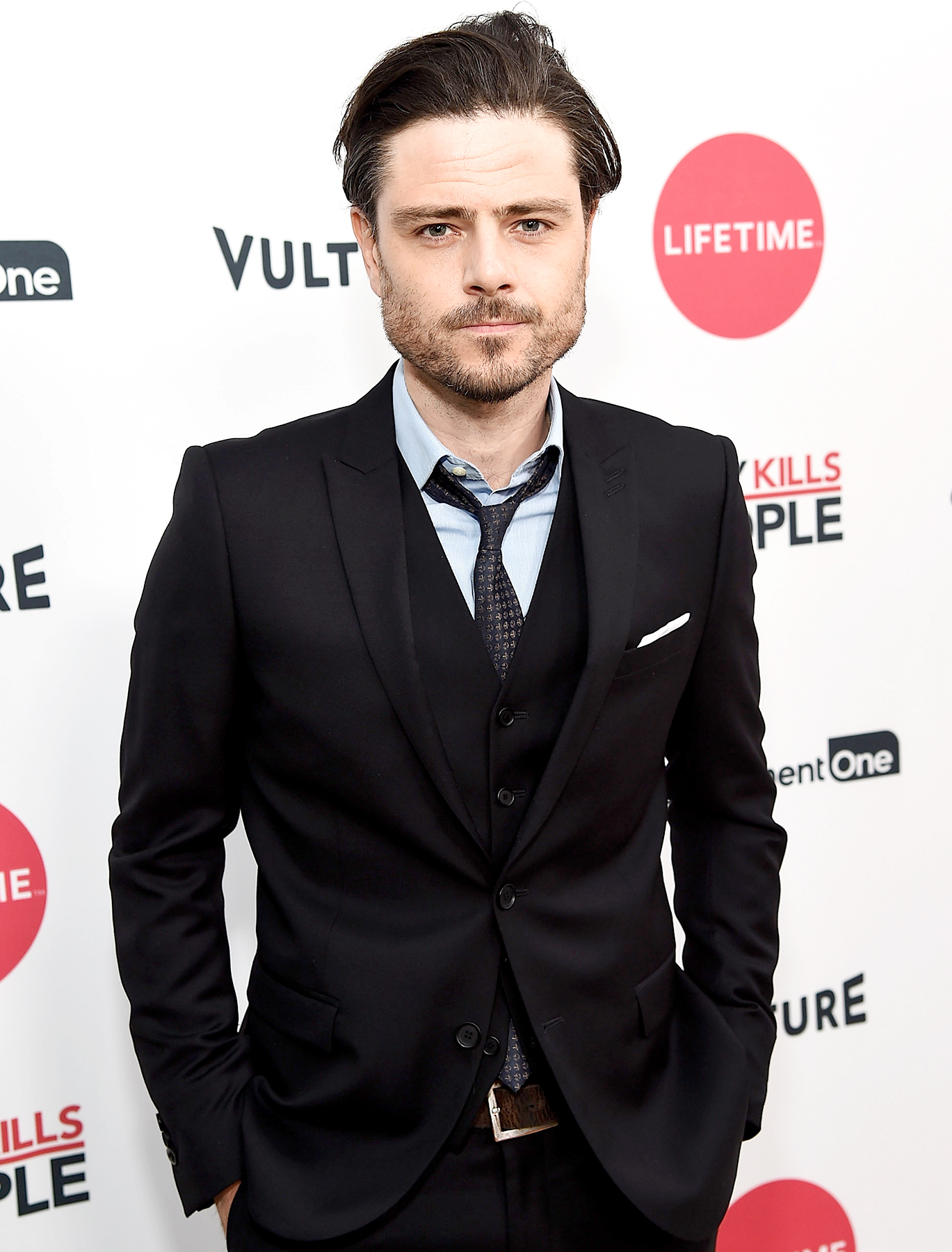 """Richard Short attends Lifetime's """"Mary Kills People"""" Broad Focus Screening Event at The London West Hollywood on April 19, 2017 in West Hollywood, California."""