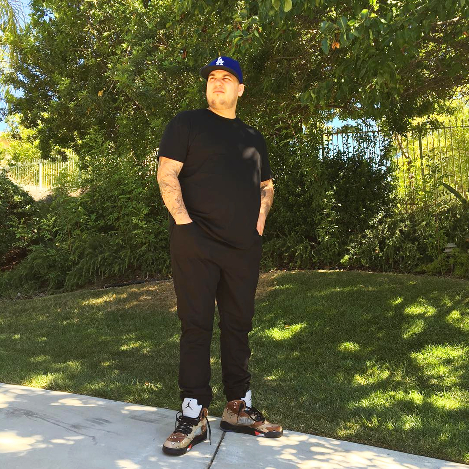 Rob Kardashian - Weight Changes