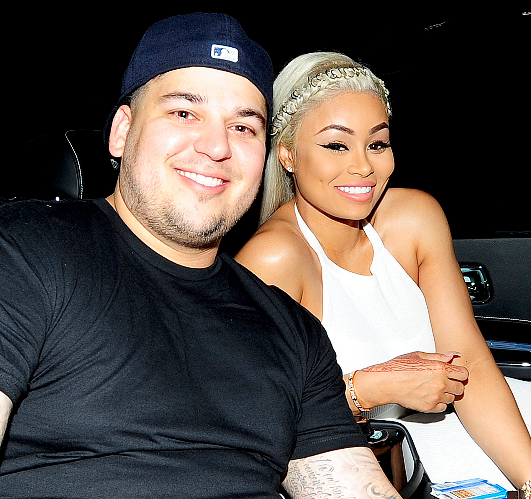 Blac Chyna attends her 28th birthday party at a Miami Strip Club G5IVE with Rob Kardashian and her friends on May 11, 2016.