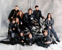 Burton Jenner, Khloe Kardashian, Bruce Jenner, Kris Jenner, Kim Kardashian, Brandon Jenner, Brody Jenner, Kourtney Kardashian, Robert Kardashian, Jr. and Cassandra Jenner