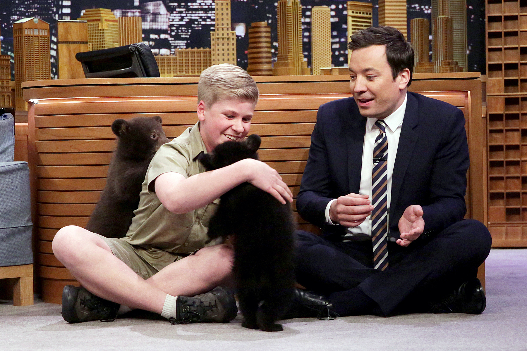 Robert Irwin Jimmy Fallon black bears
