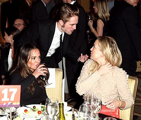 Robert Pattinson and Kate Hudson