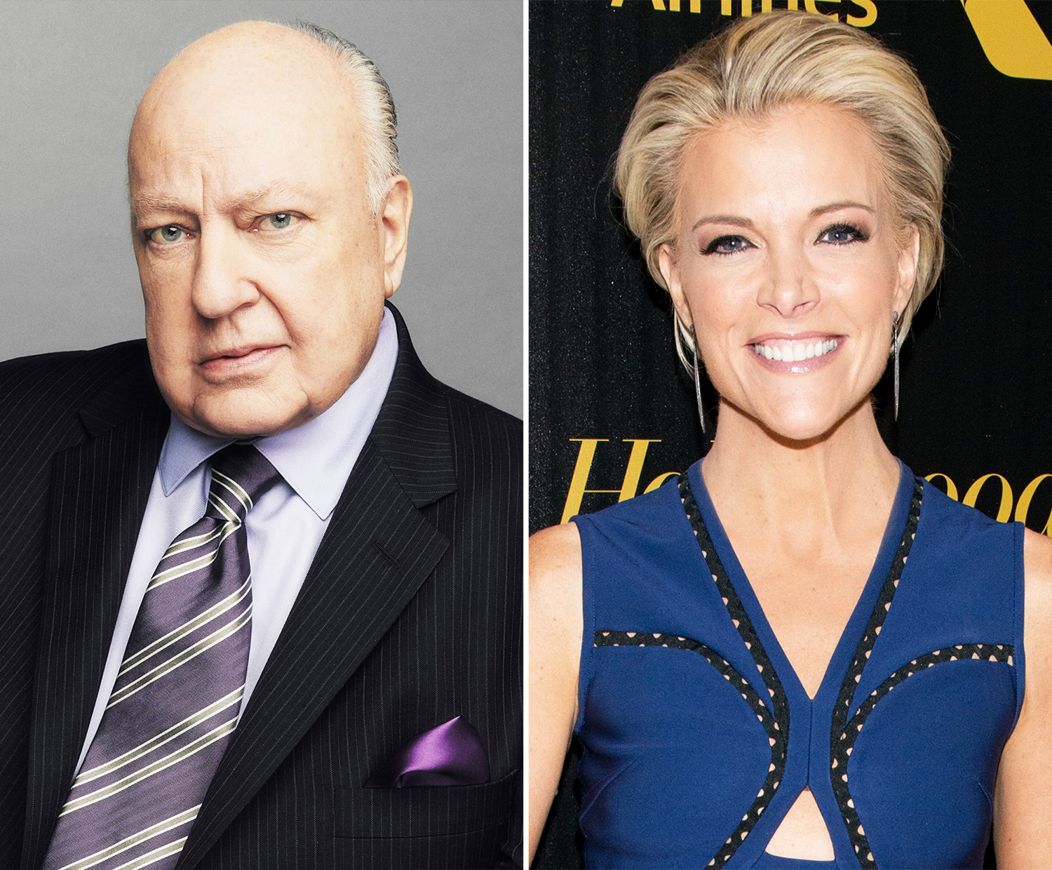 Roger Ailes and Megyn Kelly