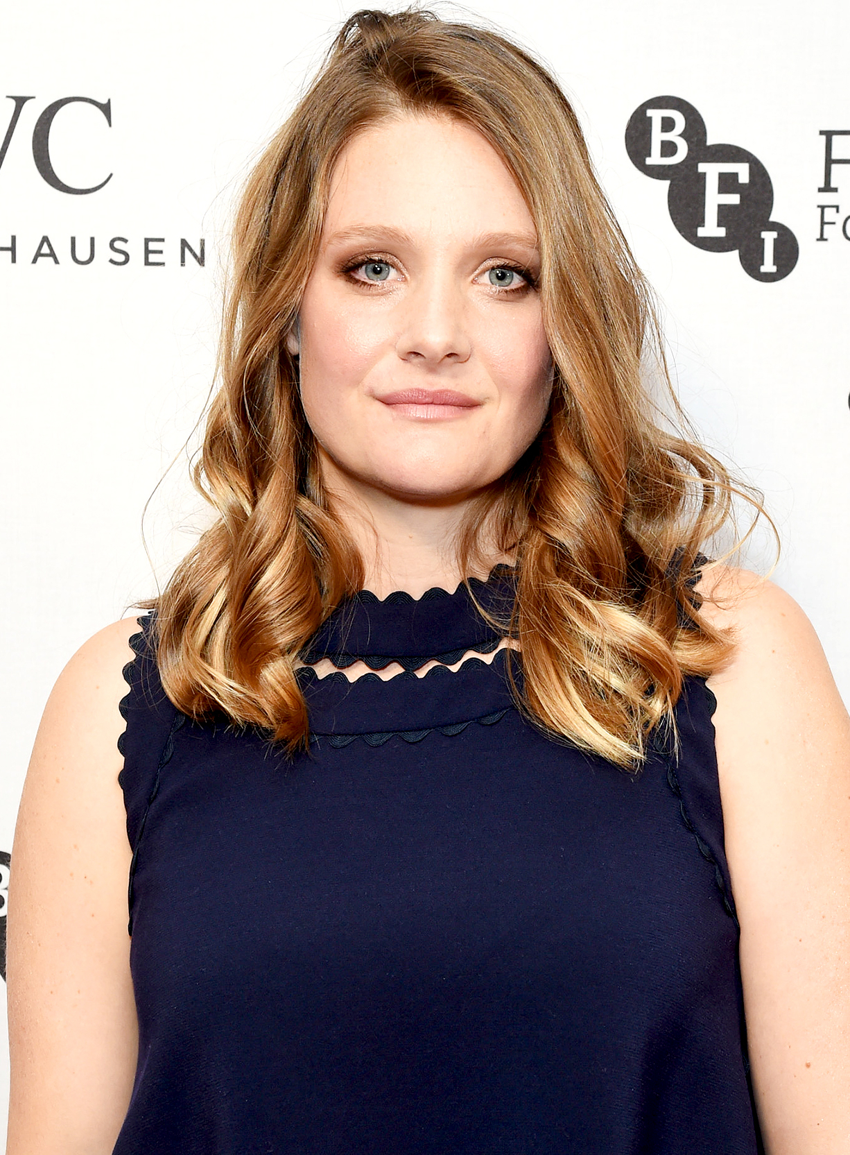 Romola Garai attends the IWC Schaffhausen Dinner in Honour of the BFI at Rosewood London on October 4, 2016 in London, England.