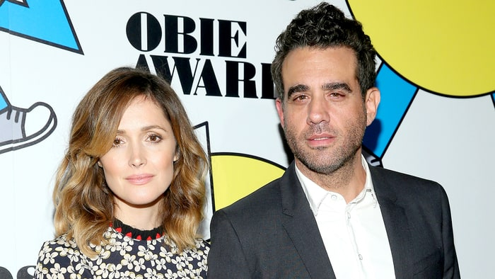 Rose Byrne and Bobby Cannavale attend at the 2017 Obie Awards at Webster Hall on May 22, 2017 in New York City.