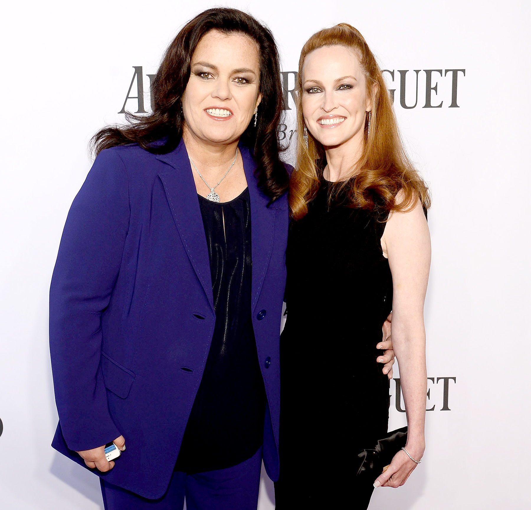 Rosie O'Donnell and Michelle Rounds attend the 68th Annual Tony Awards at Radio City Music Hall in New York City on June 8, 2014.