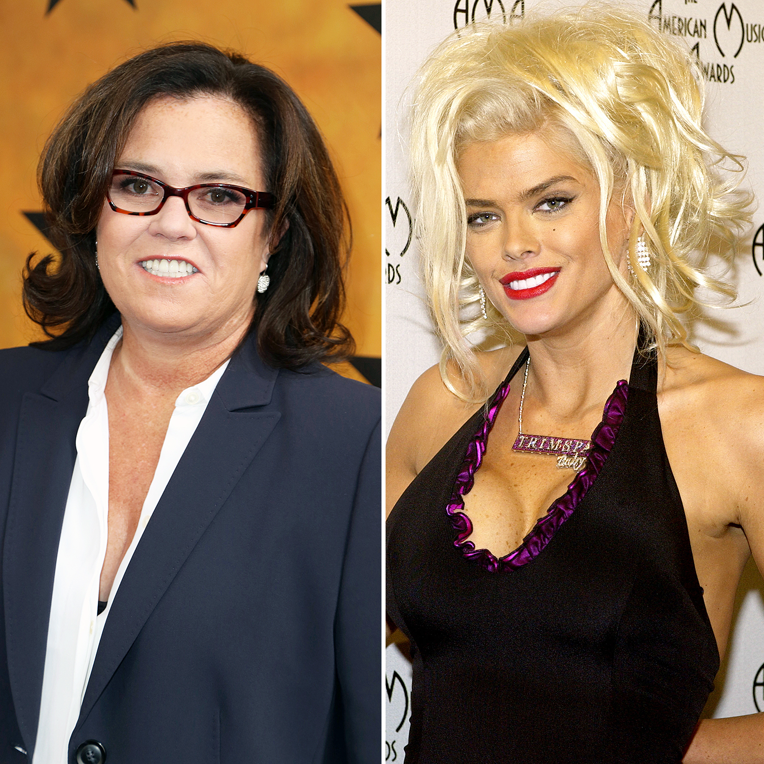 Rosie O'Donnell and Anna Nicole Smith