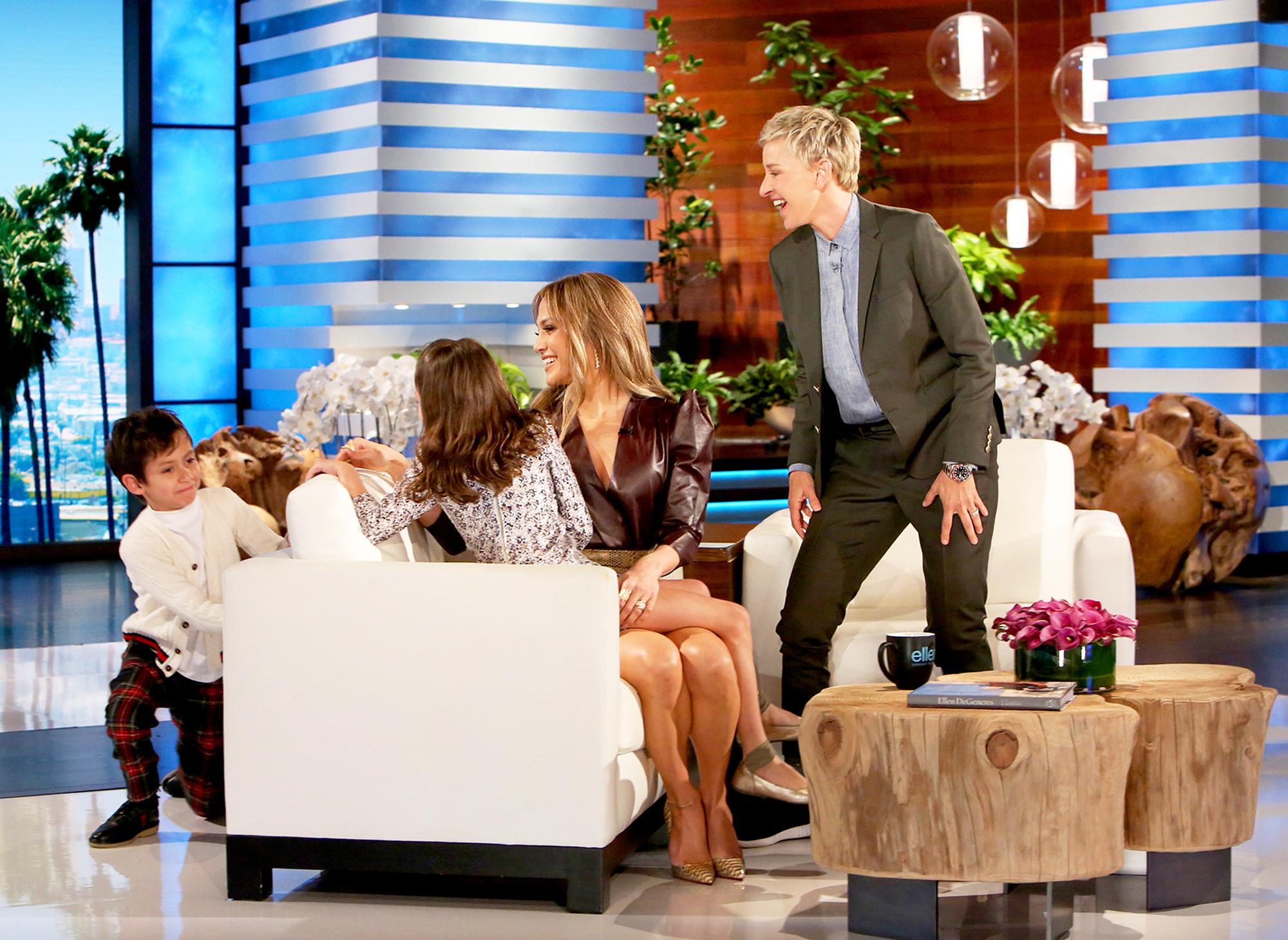 Jennifer Lopez, Emme and Max