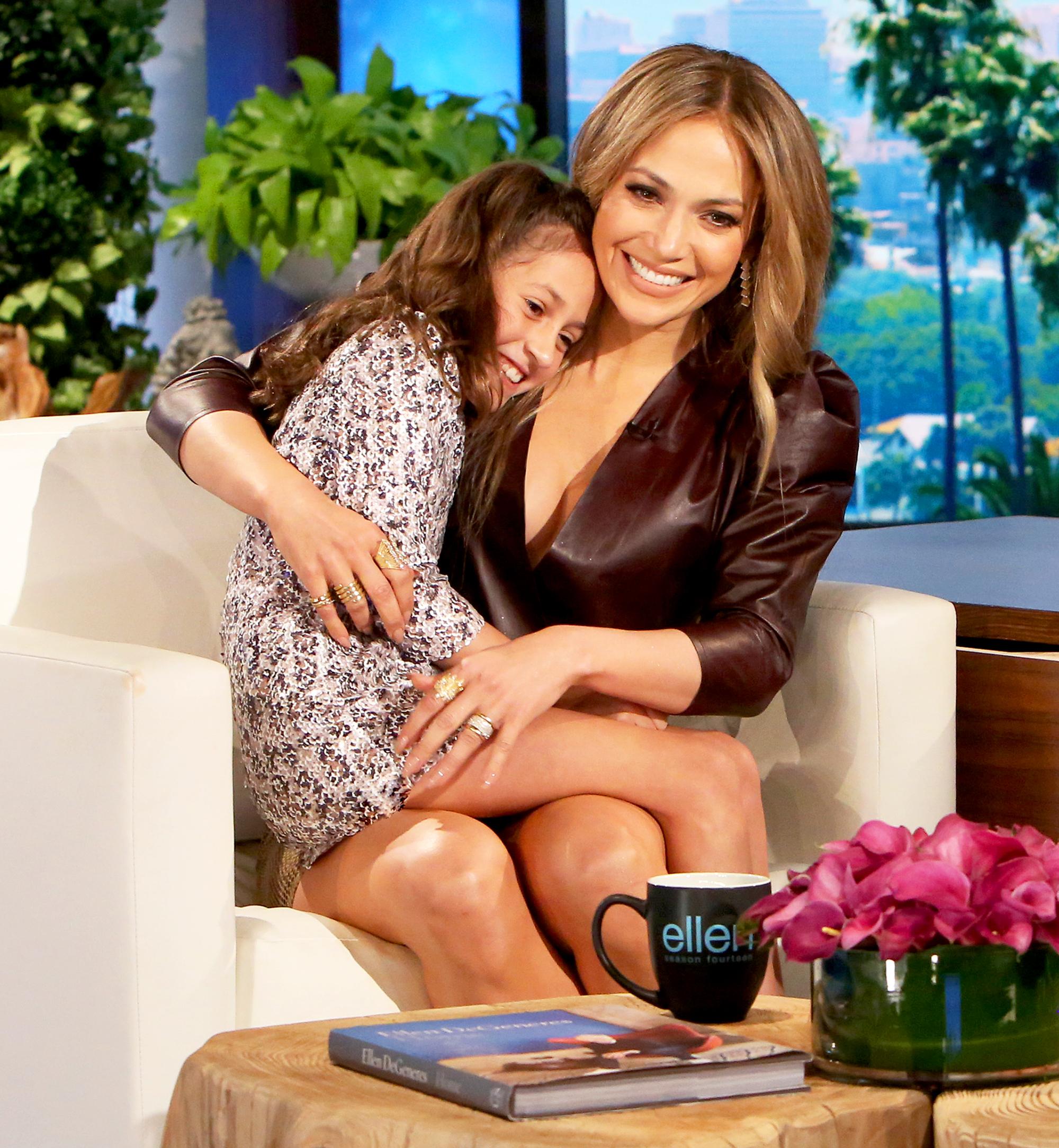 Jennifer Lopez and Emme