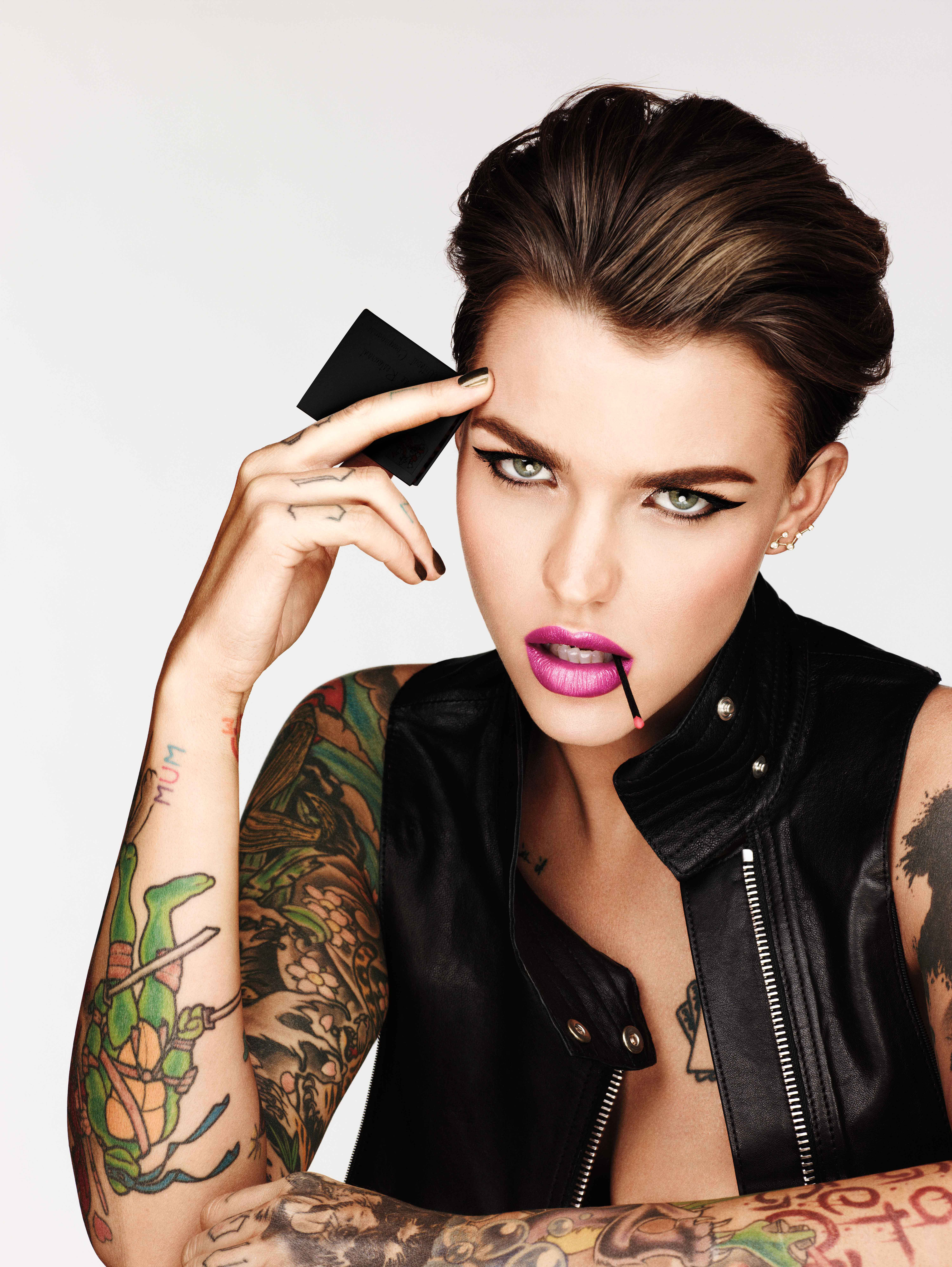91559e518 Ruby Rose Is Urban Decay's New Celebrity Ambassador