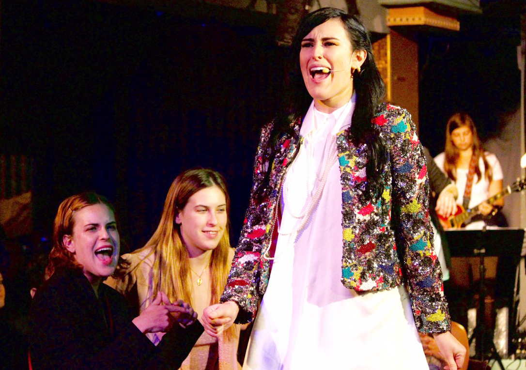 Rumer Willis as Andy Sachs in The Unauthorized Musical Parody of The Devil Wears Prada in L.A.