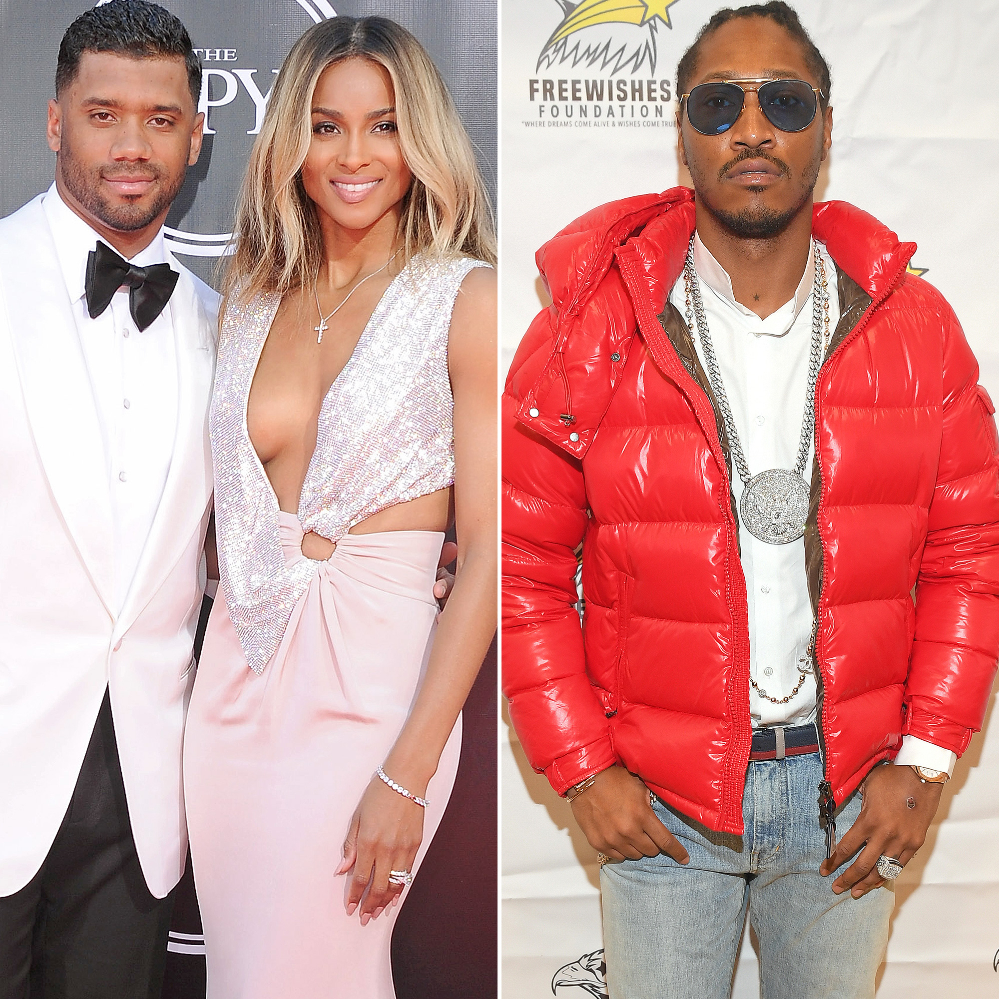 Russell Wilson, Ciara and Future