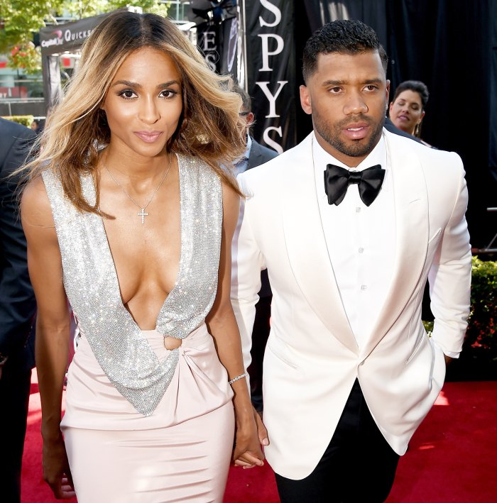 Ciara and Russell Wilson Make First Public Appearance As