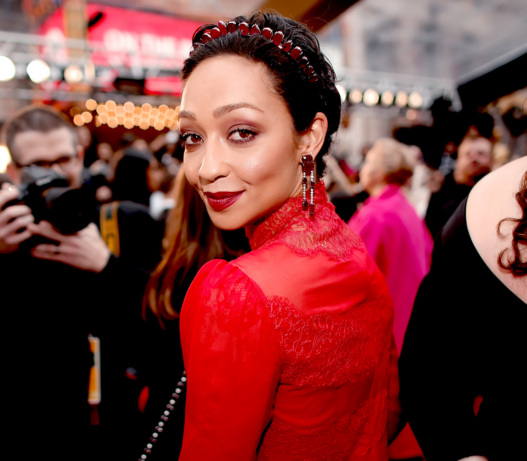 Ruth Negga attends the 89th Annual Academy Awards at Hollywood & Highland Center on February 26, 2017 in Hollywood, California.