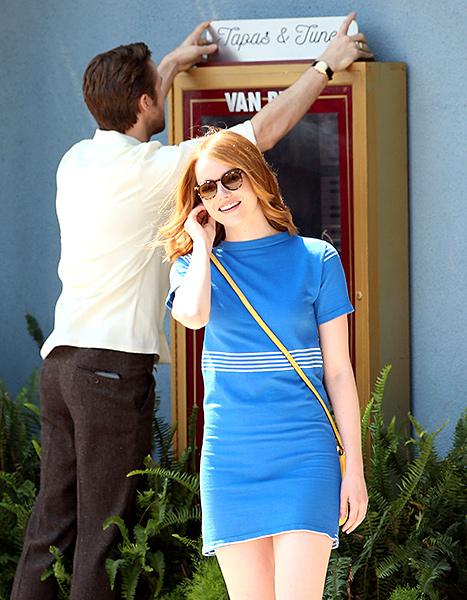 Emma Stone and Ryan Gosling - La La Land
