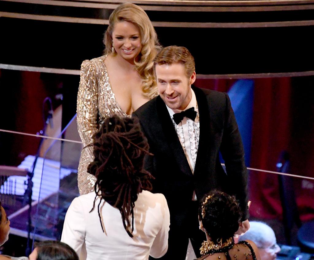 Mandi Gosling and Ryan Gosling