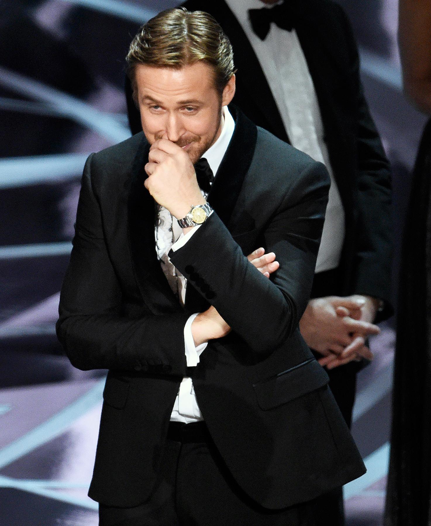 Ryan Gosling Academy Awards Oscars 2017