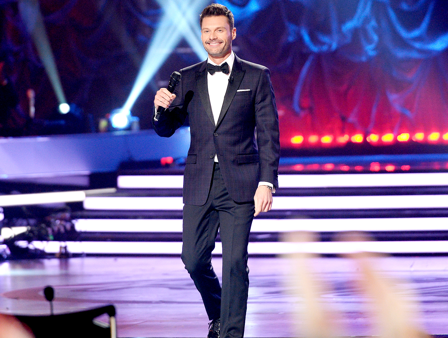 """Ryan Seacrest speaks onstage during """"American Idol"""" XIV Grand Finale at Dolby Theatre on May 13, 2015 in Hollywood, California."""