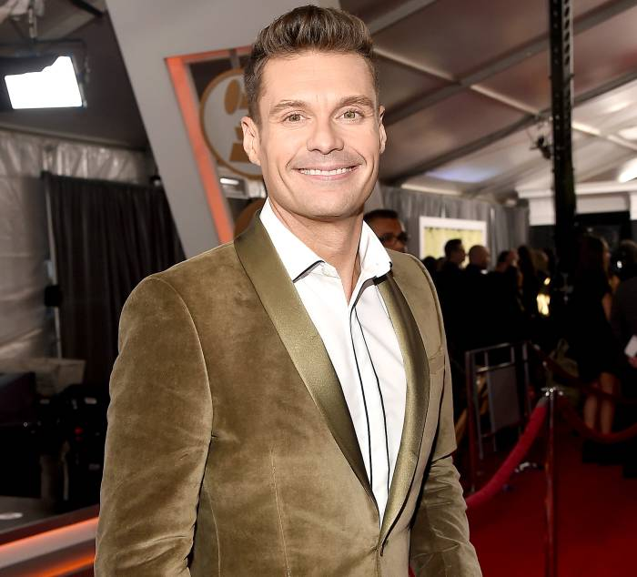 Ryan Seacrest attends The 59th GRAMMY Awards at STAPLES Center on February 12, 2017 in Los Angeles, California.