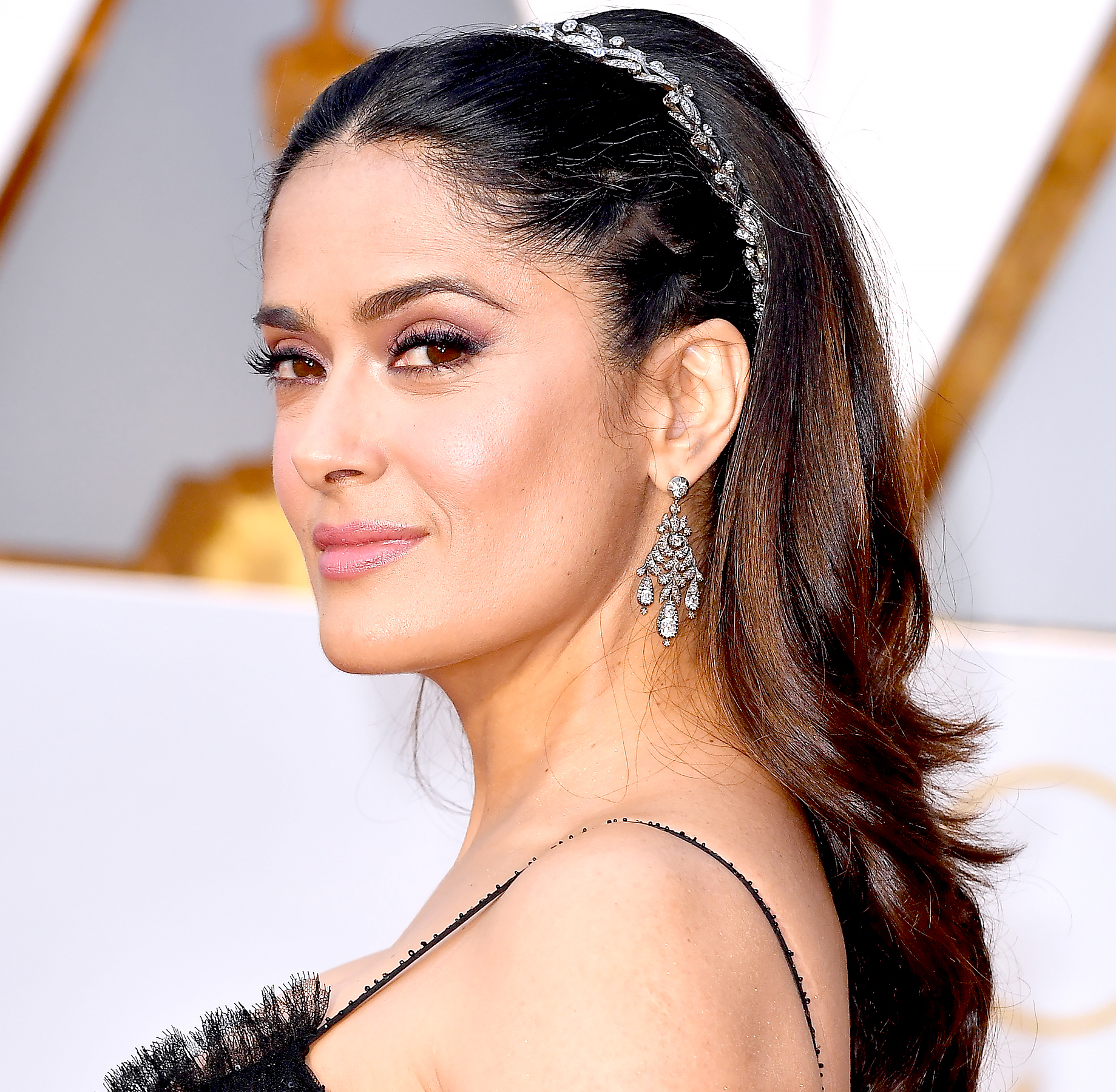 Salma Hayek attends the 89th Annual Academy Awards at Hollywood & Highland Center on February 26, 2017 in Hollywood, California.