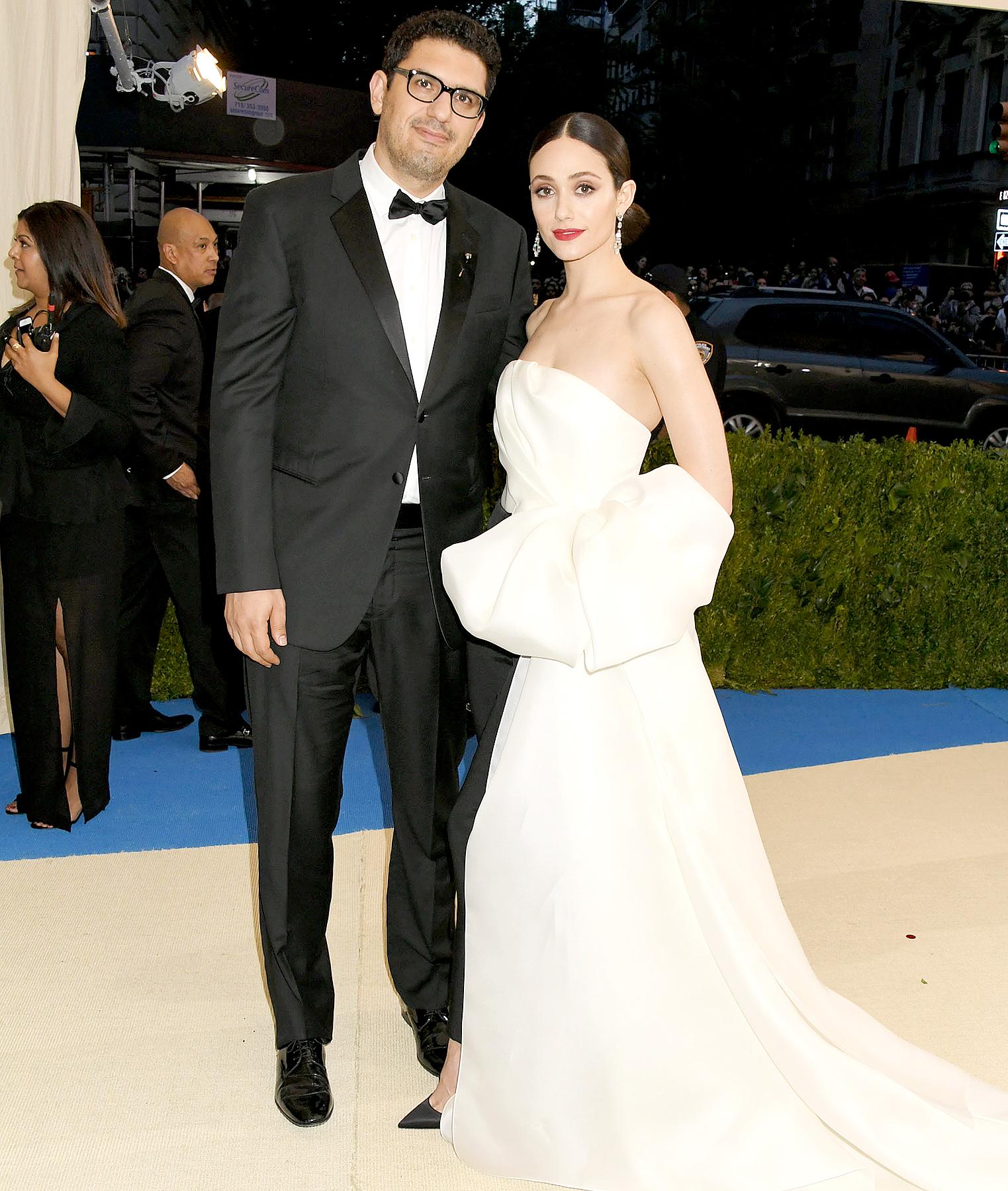 Emmy Rossum Wedding: Emmy Rossum Marries Fiance Sam Esmail