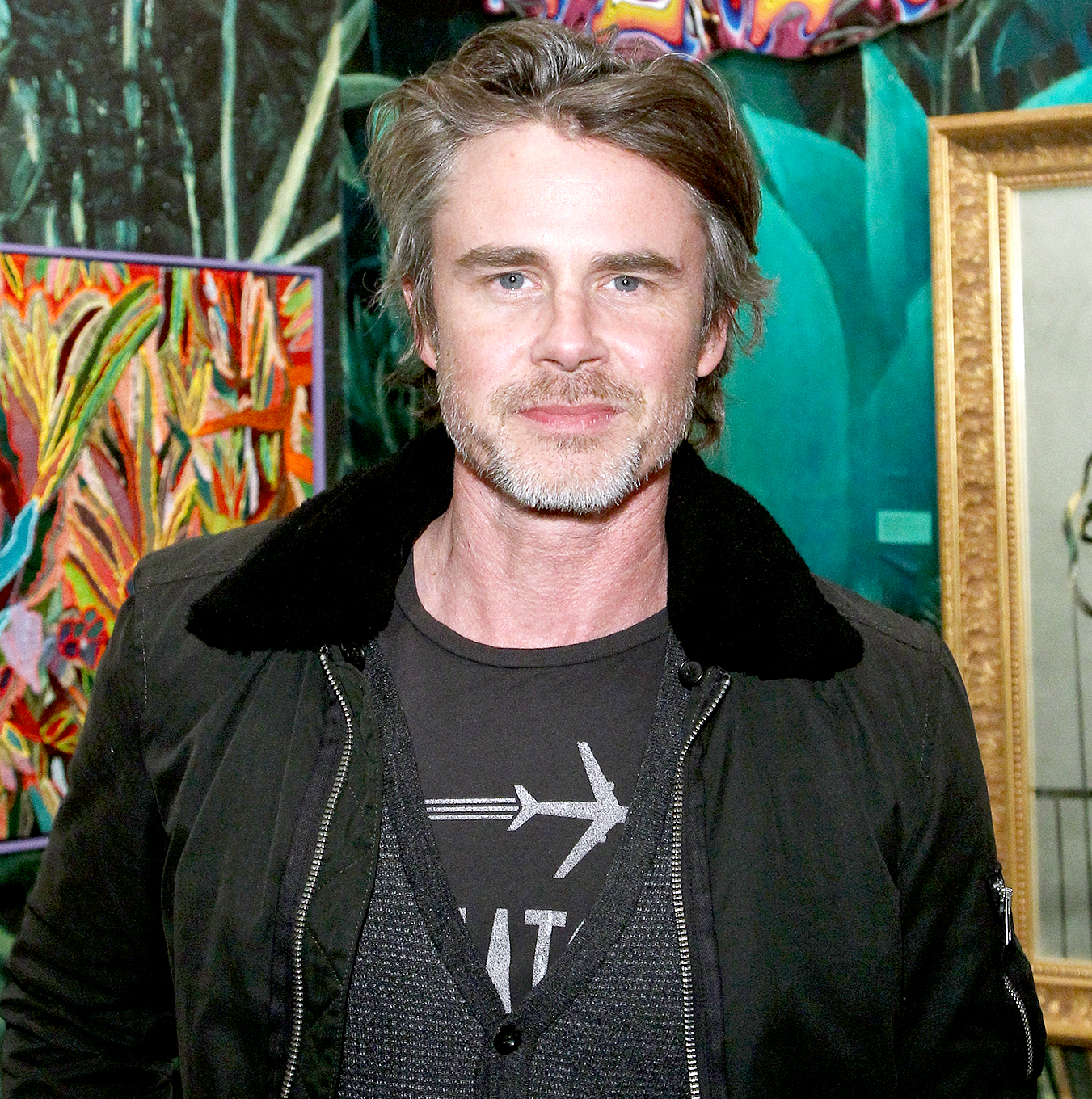 Sam Trammell attends the Art Los Angeles Contemporary 2017 opening night at Barker Hangar on January 26, 2017 in Santa Monica, California.