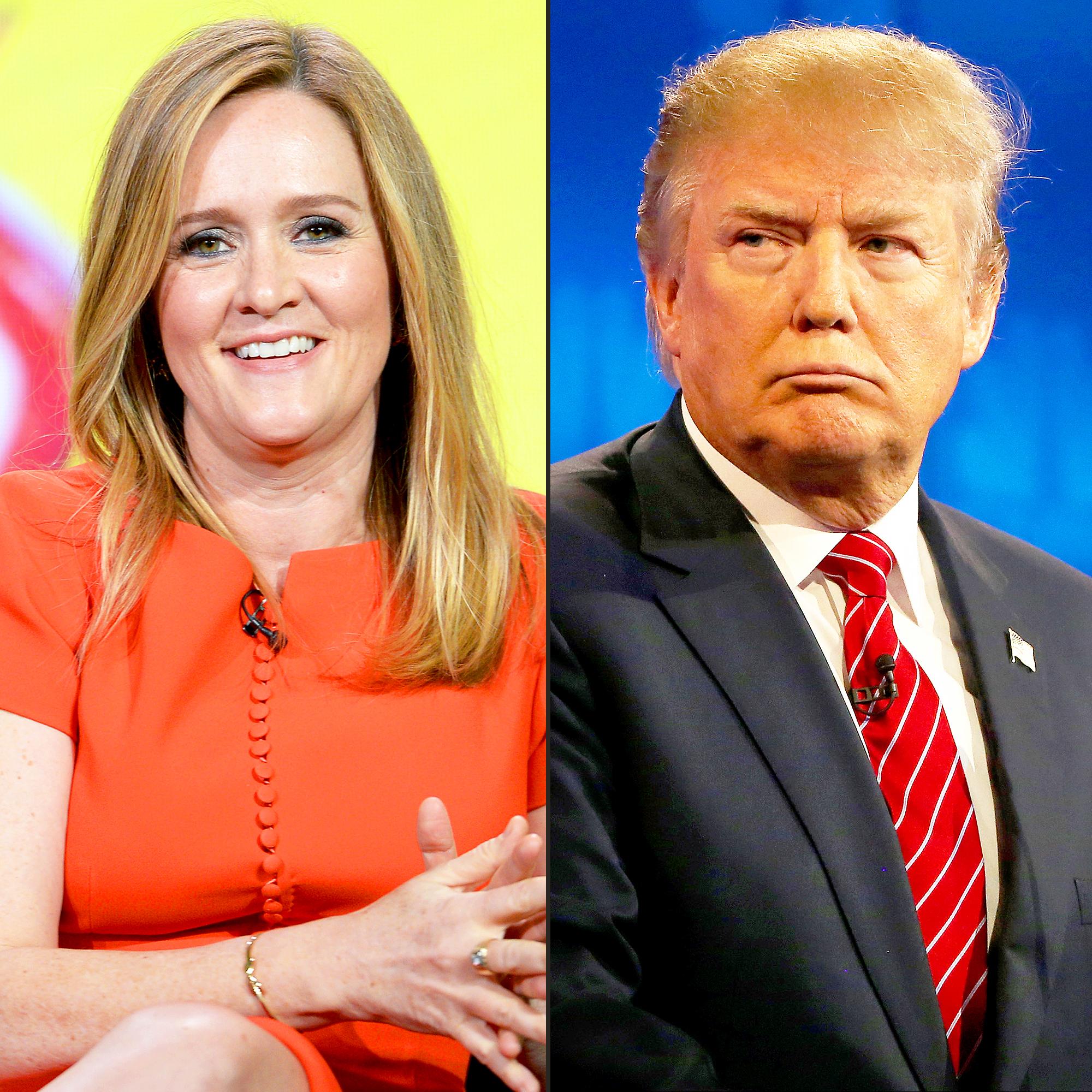 Samantha Bee and Donald Trump