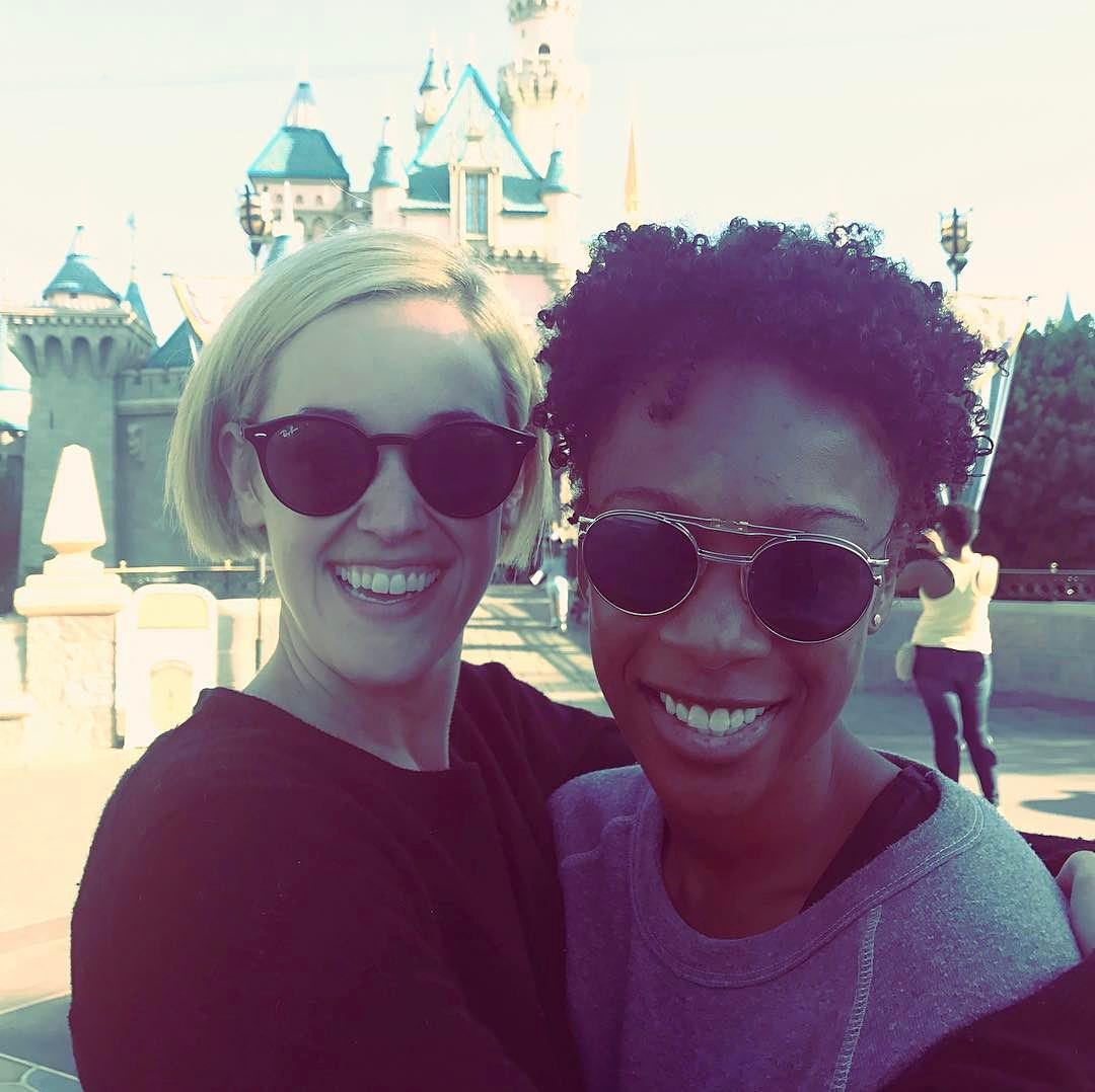Lauren Morelli Samira Wiley honeymoon Disneyland