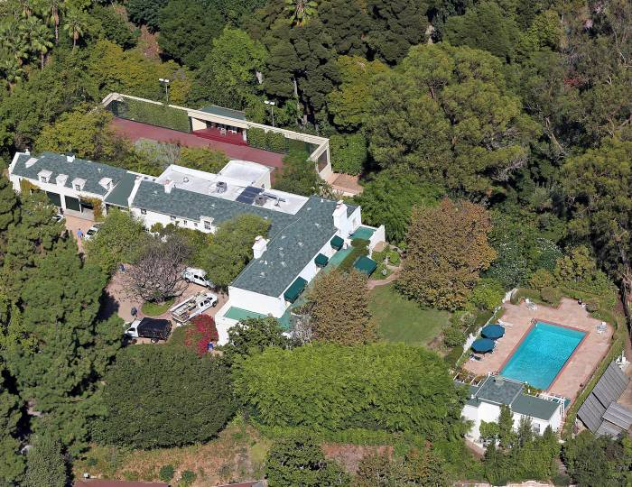Taylor Swift Samuel Goldwyn Estate