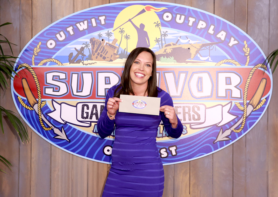 Sarah Lacina is crowned Sole Survivor during the two-hour season finale.