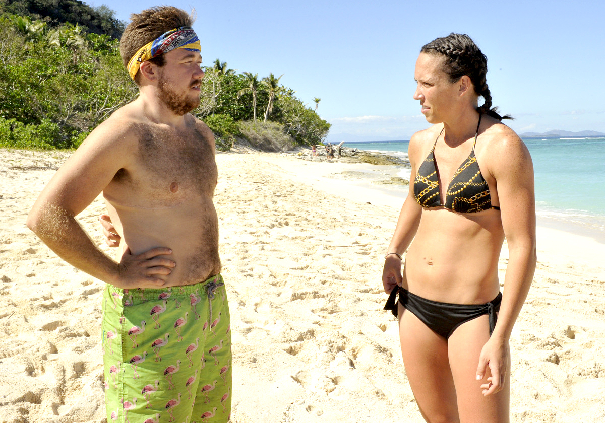 Zeke Smith and Sarah Lacina on the eighth and ninth episode of SURVIVOR: Game Changers.