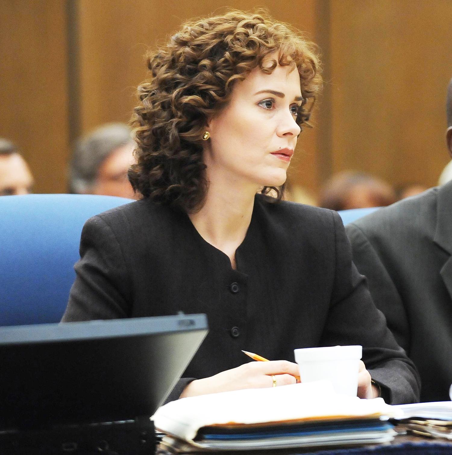 Sarah Paulson as Marcia Clark