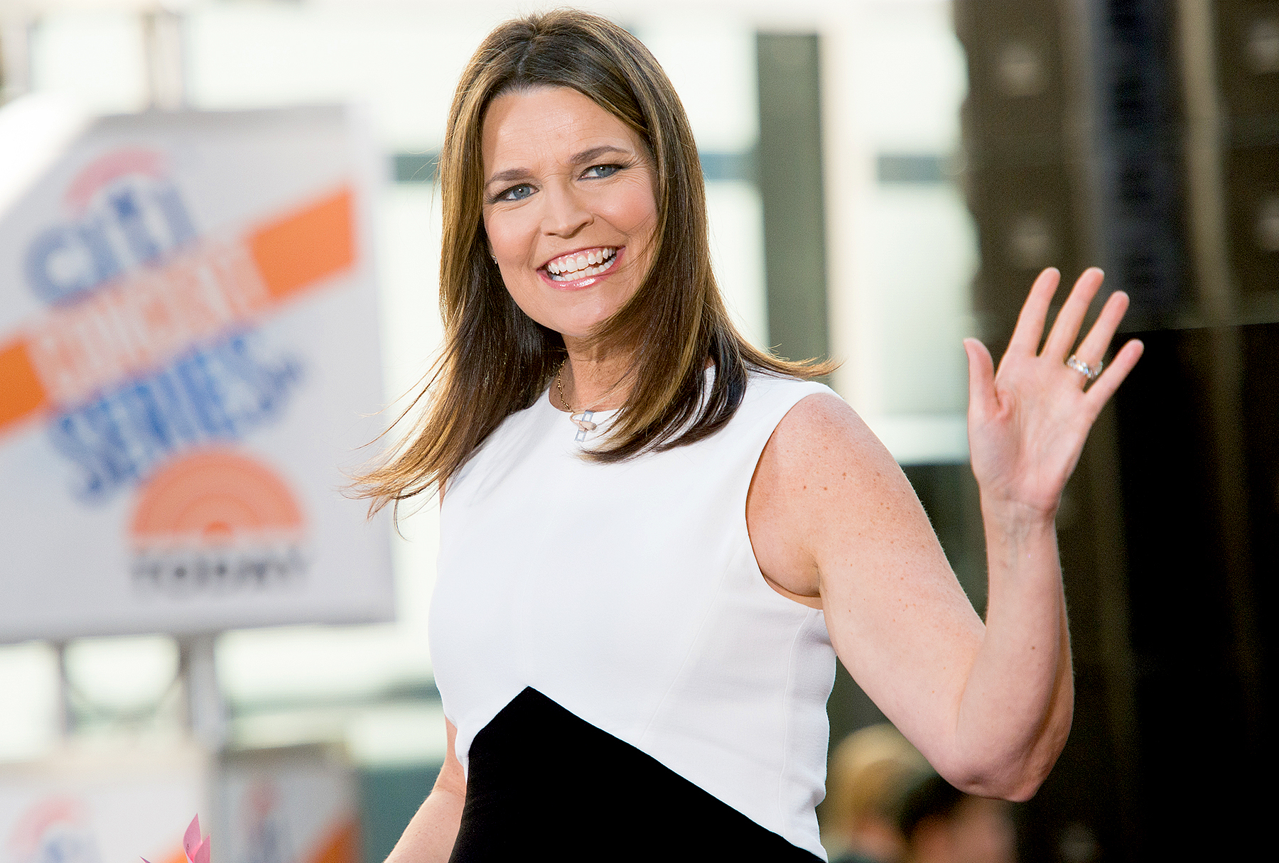 """Savannah Guthrie attends NBC's """"Today"""" at Rockefeller Plaza on July 15, 2016 in New York City."""