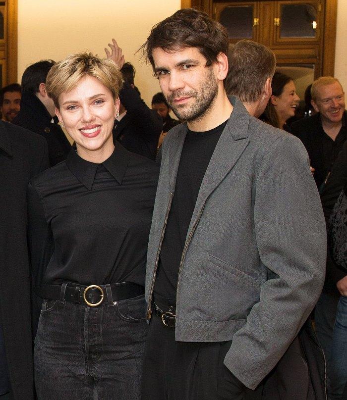Scarlett Johansson Romain Dauriac