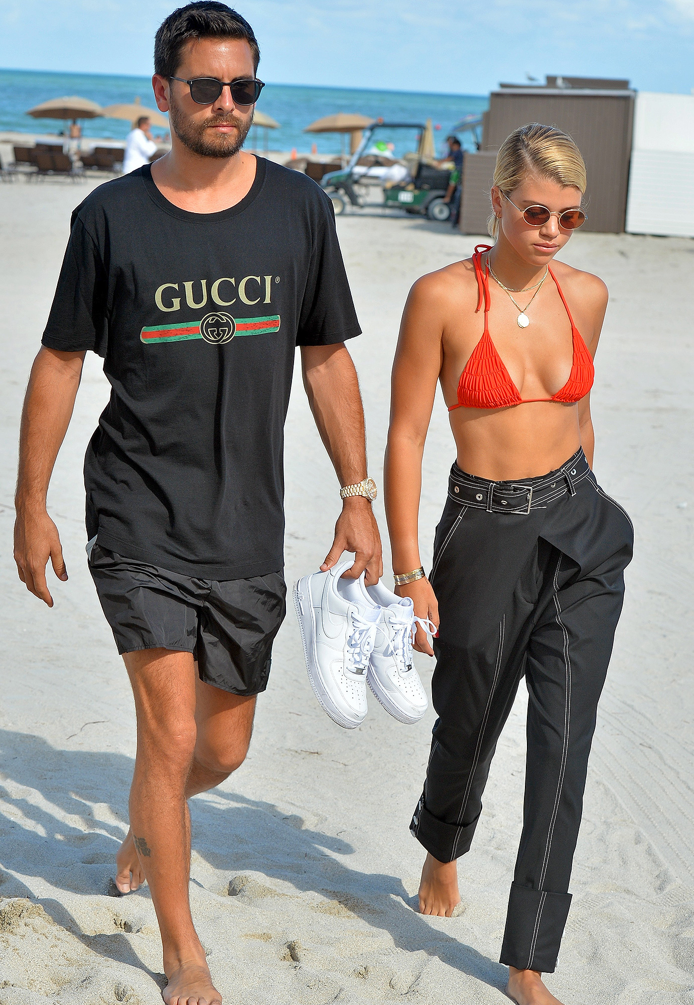 Scott Disick, Sofia Richie, Miami, Instagram Official, Couple