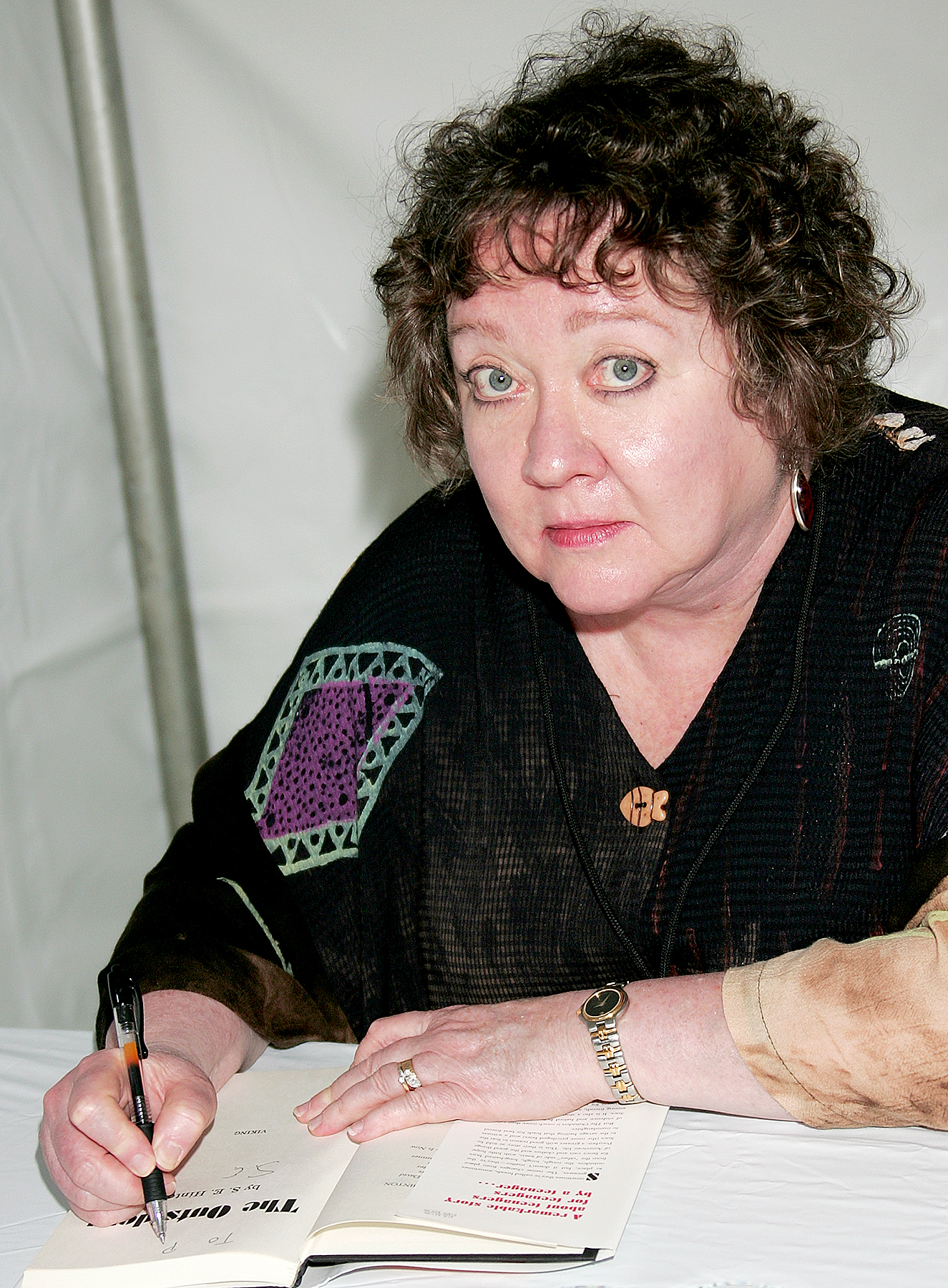 S.E. Hinton attends the 14th annual Los Angeles Times Festival of Books - Day 2 at UCLA on April 26, 2009 in Los Angeles, California.