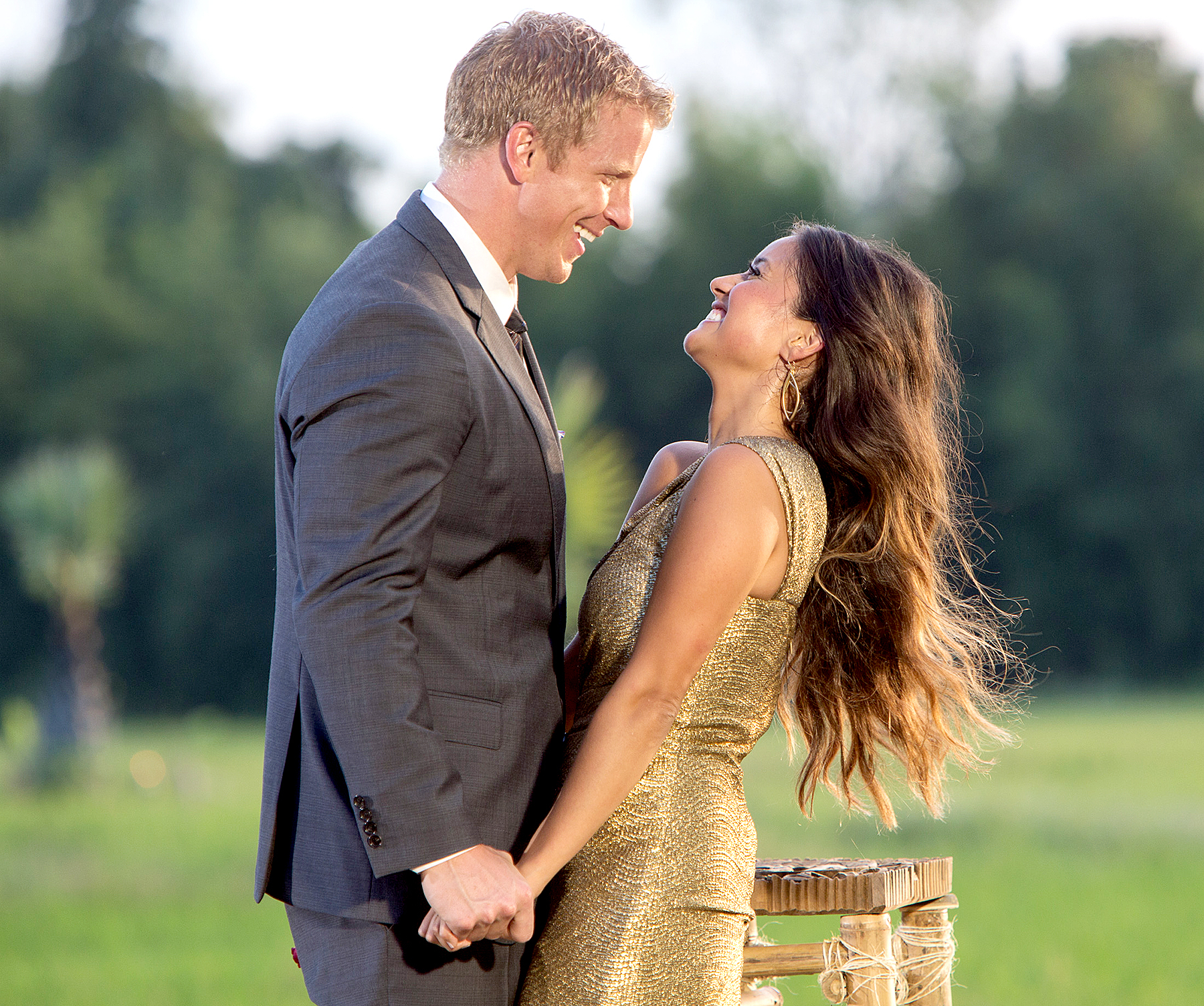 Sean and Catherine on The Bachelor.