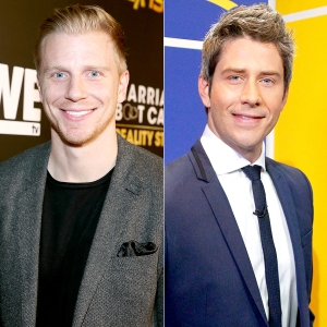 Sean Lowe and Arie Luyendyk Jr.