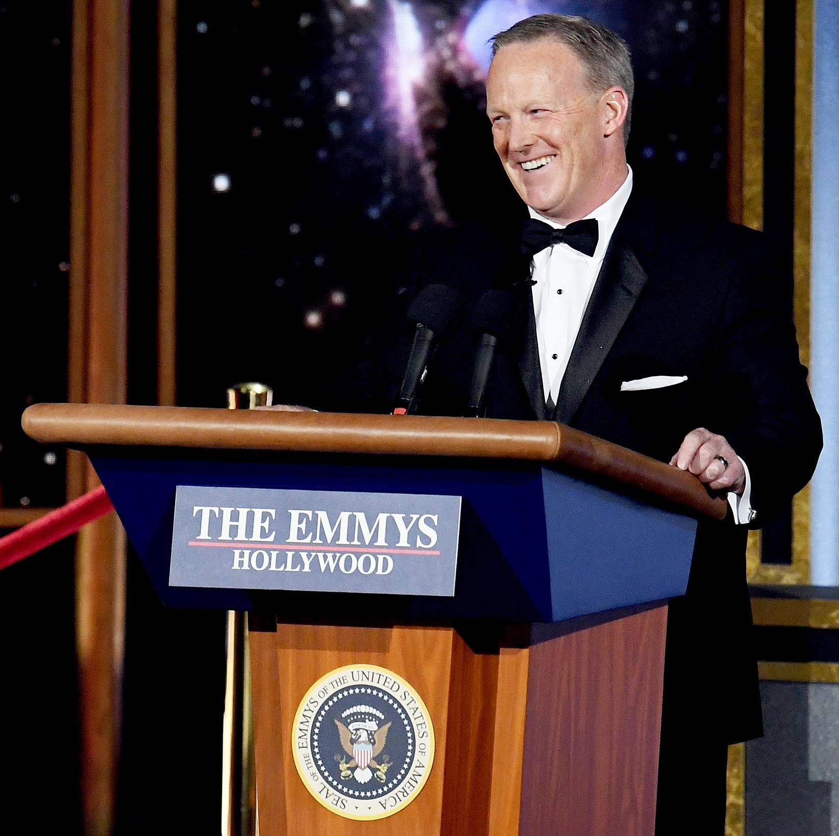 Emmys 2017 Sean Spicer