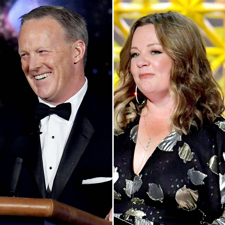 Sean Spicer Melissa McCarthy Emmys 2017