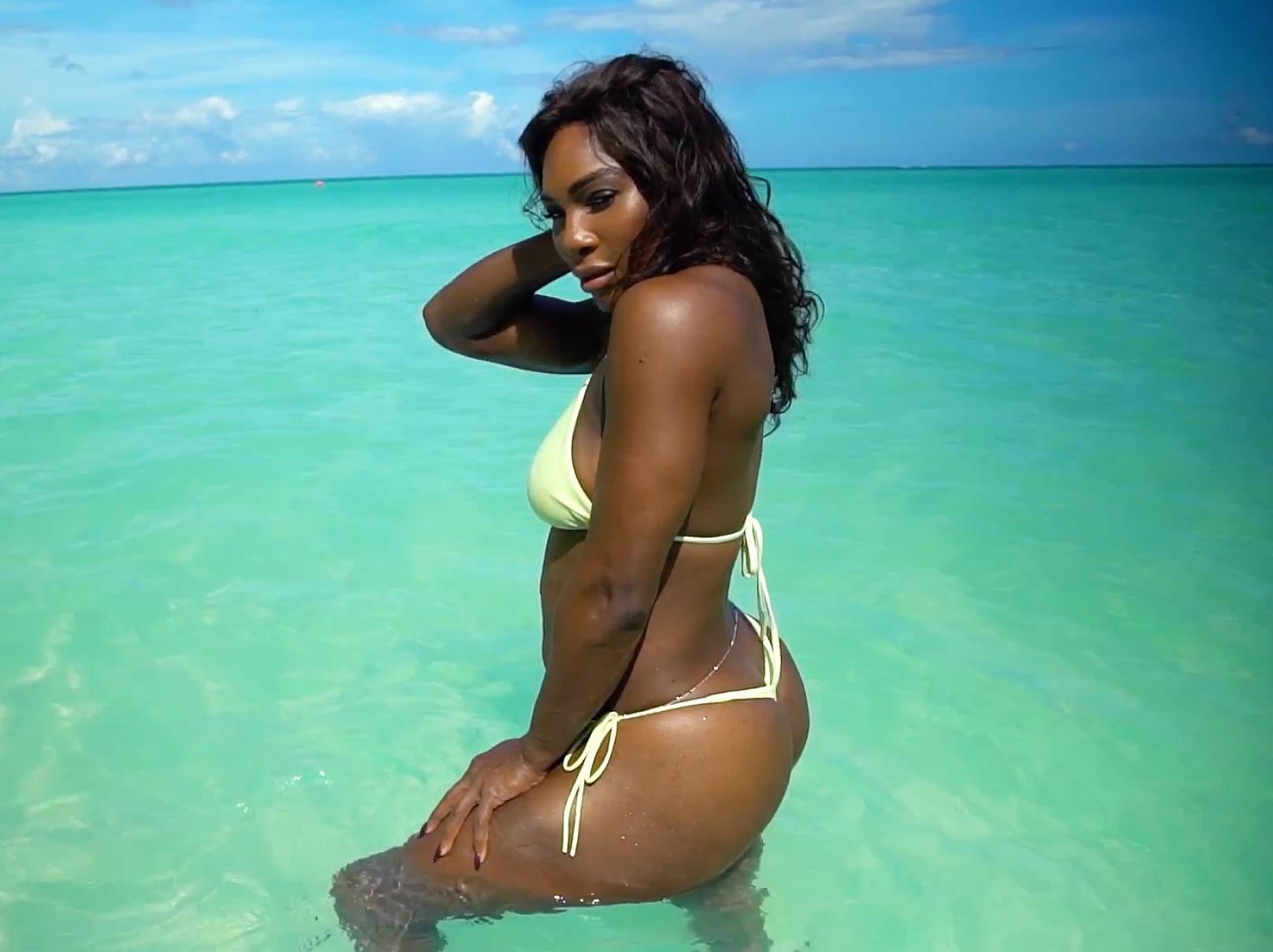Hot ebony females Serena Ali   103217