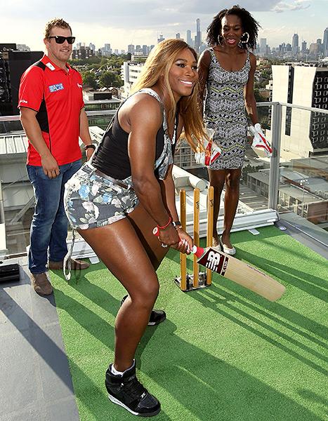 Serena Williams - Cricket