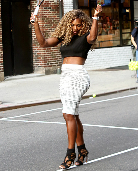Serena Williams Letterman