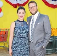 Seth Rogen and Lauren Miller proposal