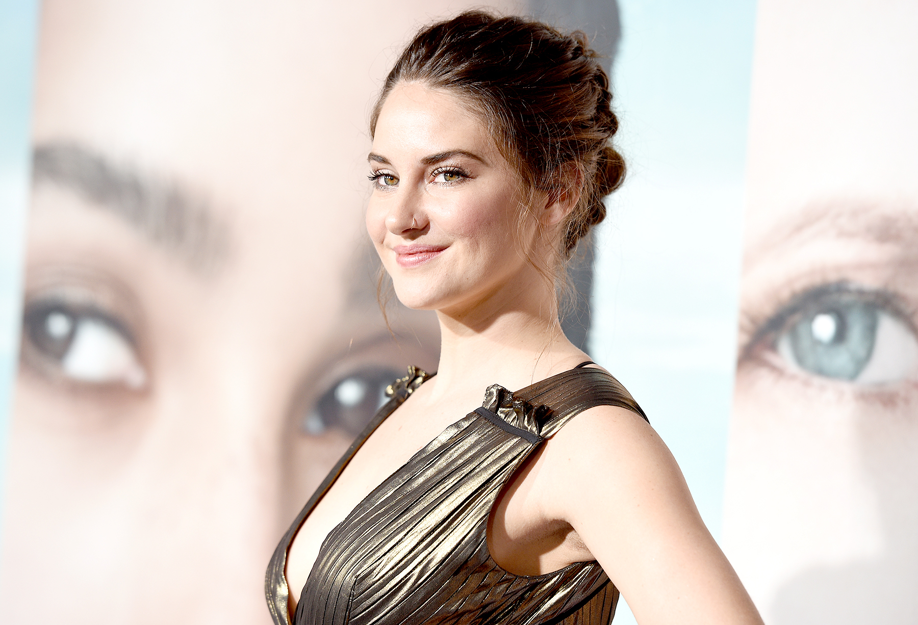 """Shailene Woodley attends the premiere of HBO's """"Big Little Lies"""" at TCL Chinese Theatre on February 7, 2017 in Hollywood, California."""