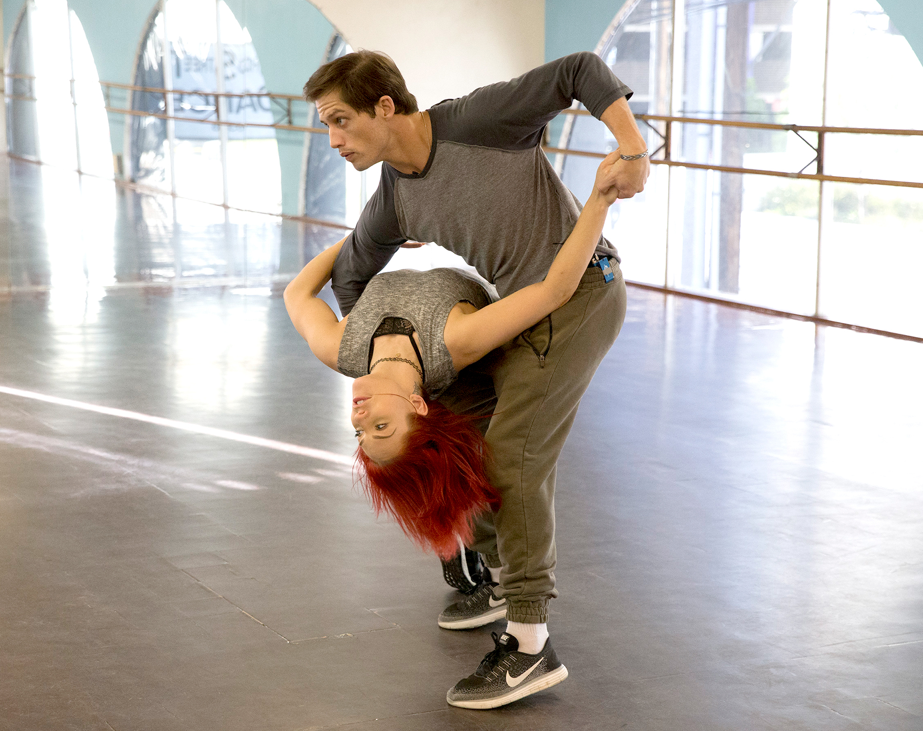 Bonner Bolton and Sharna Burgess ABC/Paul Hebert