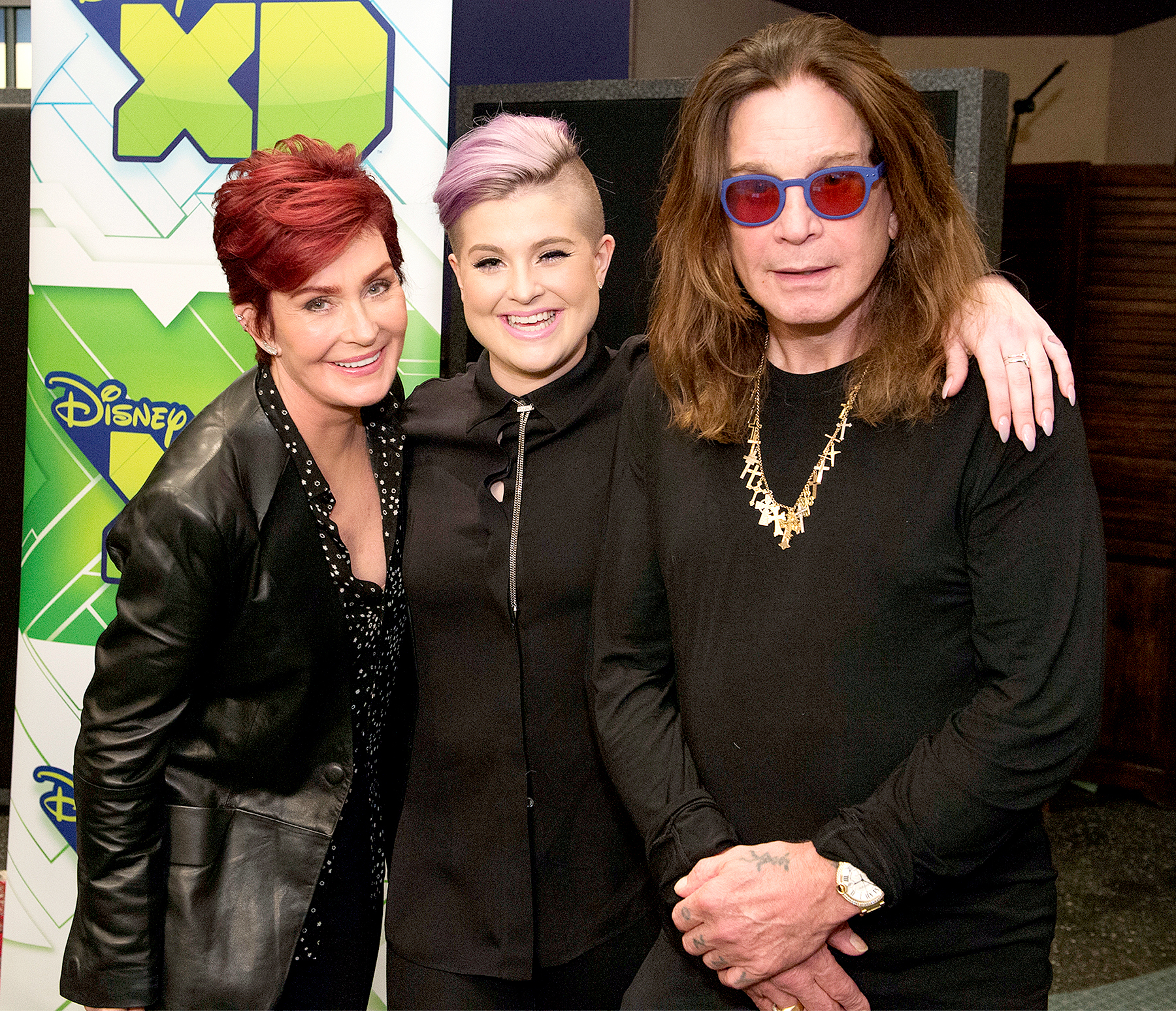 Sharon, Kelly, and Ozzy Osbourne