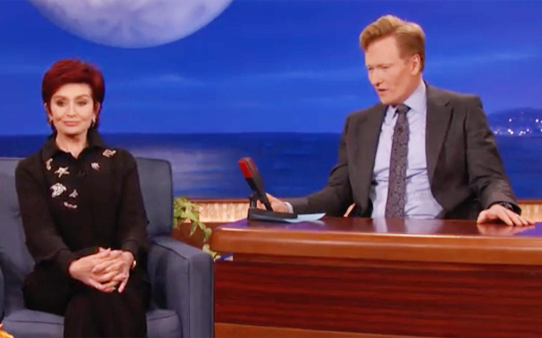 Sharon Osbourne and Conan O'Brien